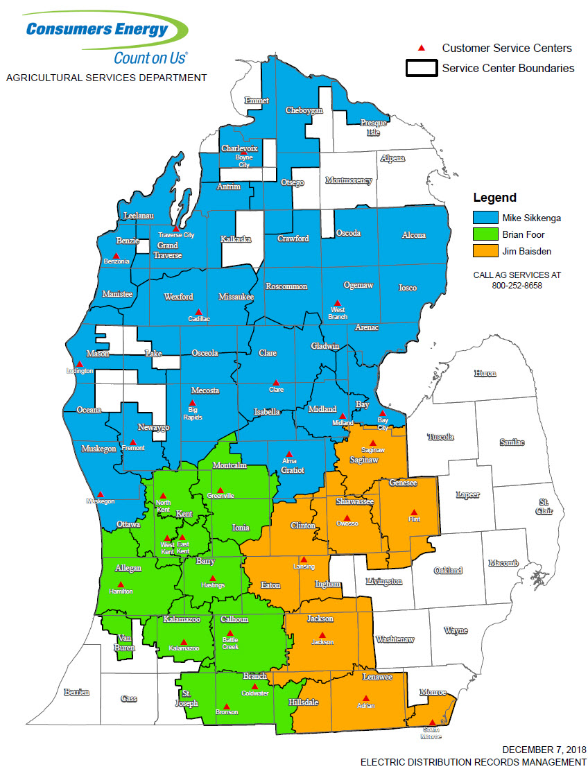 Consumers Power Outage Map Michigan Contact Our Experts | Consumers Energy