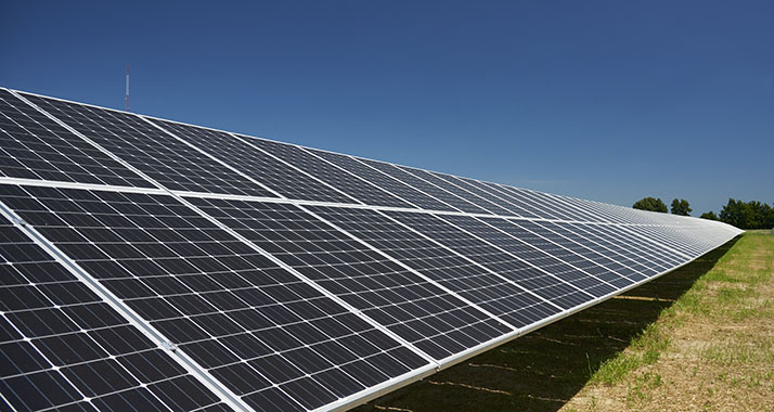 One Of Our Large Arrays Solar Panels