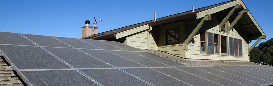 electricity sales solar panels on roof